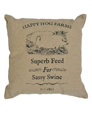Picture of Sassy Swine Pillow