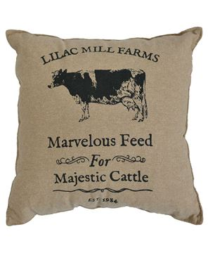 Picture of Majestic Cattle Pillow