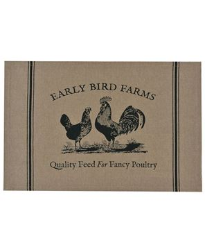 Picture of Fancy Poultry Placemat Set