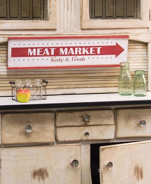Meat Market Sign
