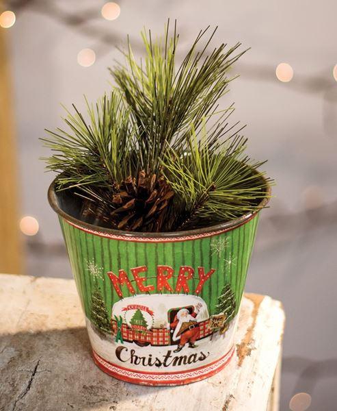 Merry Christmas Bucket