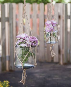 Hanging Planter Jars