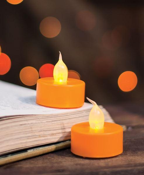 Orange Tealights
