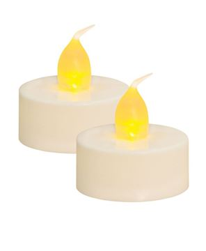 Picture of White Tealights, 2/pk