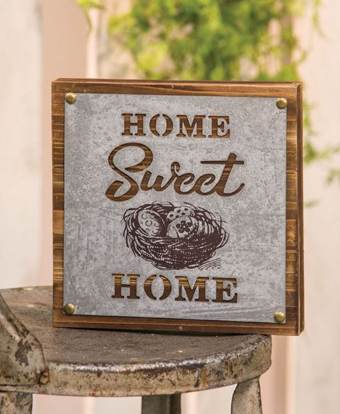 Home Sweet Home Nest Sign