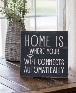 Picture of WiFi Home Sign