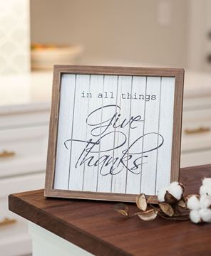 Give Thanks Shiplap Sign