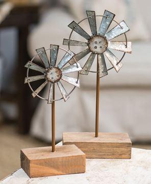 """Windmill Finial, 8"""""""