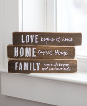 Picture of Love Begins at Home Block