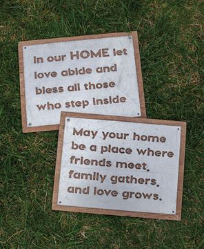 Picture of May Your Home Metal Sign