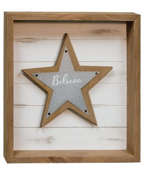 Picture of Believe Shadowbox Design
