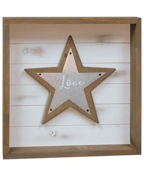 Picture of Love Shadowbox Sign