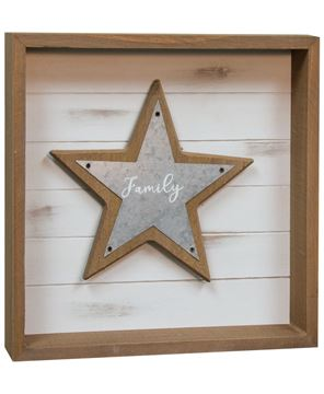 Picture of Family Shadowbox Sign