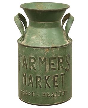 Picture of Farmers Market Milk Can