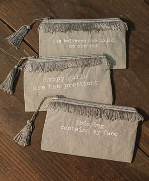 Picture of Happy Girls Fringe Pouch