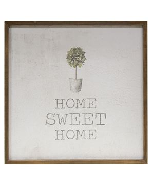 """Picture of Framed Watercolor Wall Art, 20"""" - Home"""