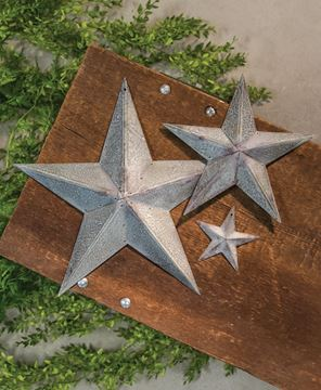 """Picture of Galvanized Metal Star, 12"""""""
