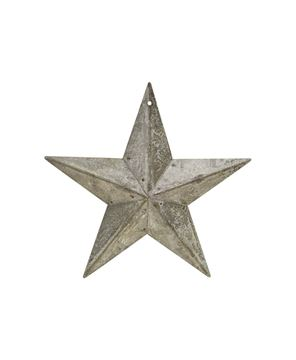 Picture of Galvanized Metal Star, 5½""