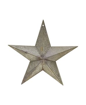 Picture of Galvanized Metal Star, 8""