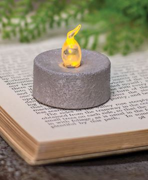 Picture of Cement Look Timer Tealight