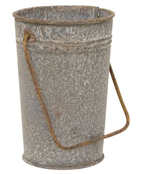 Picture of Washed Galvanized Bucket with Handle