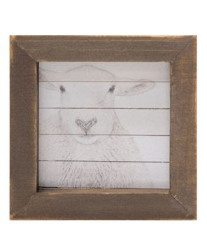 Picture of Simply Farmhouse Block - Sheep