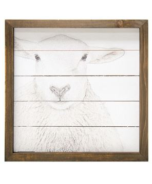 Picture of Simply Farmhouse Sign - Sheep