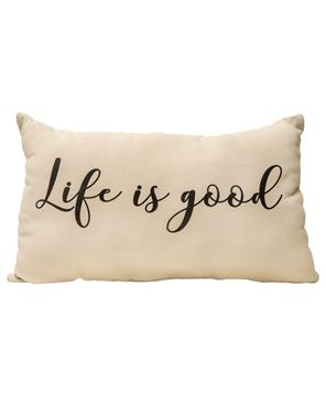 Picture of Life Is Good Pillow