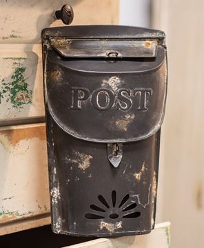 Picture of Small Black Post Box
