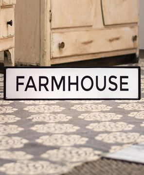Picture of Farmhouse Enamel Sign