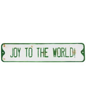 Picture of Joy to the World Street Sign