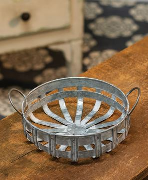 Picture of Galvanized Round Basket