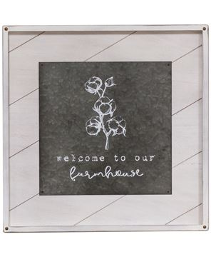 Picture of Welcome to Our Farmhouse Wall Art