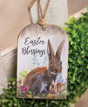 Picture of Easter Blessings Tag