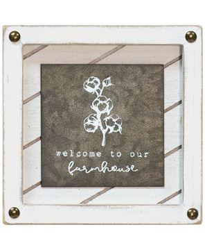 Picture of Welcome to Our Farmhouse Block