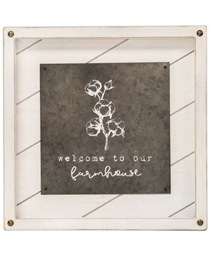 Picture of Welcome to Our Farmhouse Easel