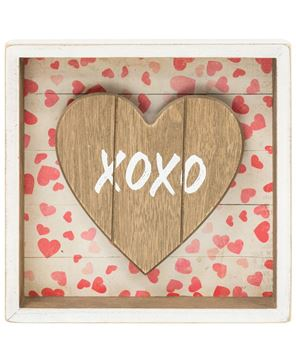 Picture of XOXO Shadow Box Sign