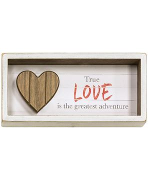 Picture of True Love Shadow Box Sign