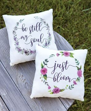 Picture of Be Still Pillow