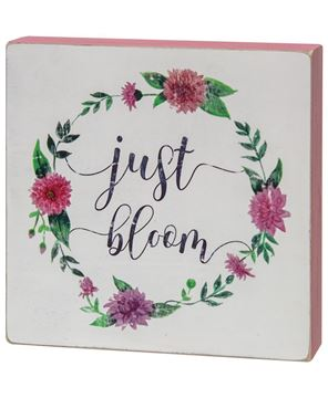 Picture of Just Bloom Box Sign