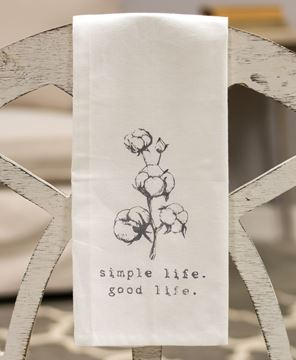 Picture of Simple Life Tea Towel