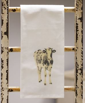 Picture of Cow Tea Towel