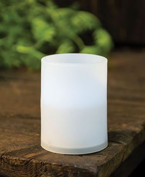 Picture of White Pillar Candle, 3 x 4