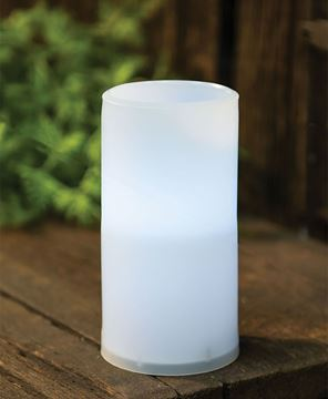 Picture of White Pillar Candle, 3 x 6