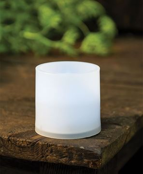 Picture of White Pillar Candle, 3 x 3