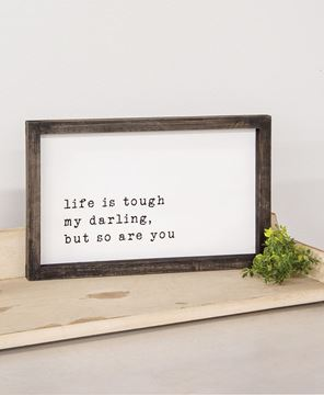Picture of My Darling Wood Framed Sign