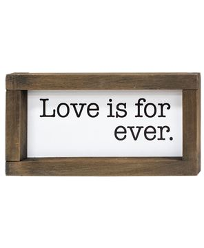 Picture of L Is For Love Framed Duo Signs