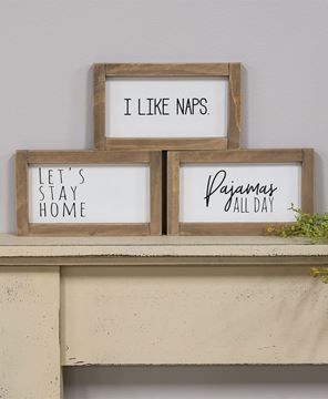 Picture of Pajamas All Day Framed Sign