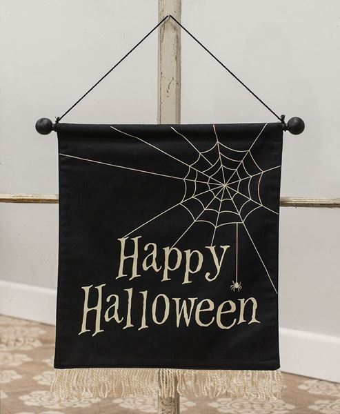 Picture of Happy Halloween Fabric Banner