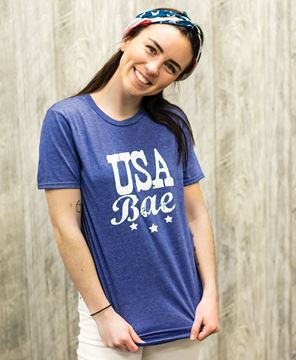 Picture of USA Bae Tee